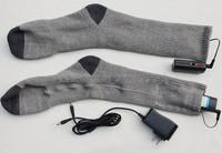 Heated Socks Battery Powered Heat To Keep Feet Warm Hunting Ice Fishing