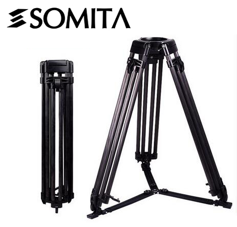SOMITA ST 9116A 800mm carbon fiber professional digital camera tripod for Video and DSLR with 100mm bowl mount