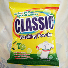 Africa OEM High Foam Washing Powder Good Quality Laundry Detergent Power Effect Washing Machine Powder