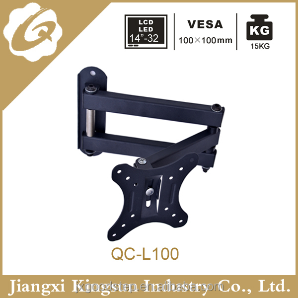 SWIVEL LCD TV WALL MOUNTING BRACKET Extendable STAND for 14-37 inch <strong>L100</strong>