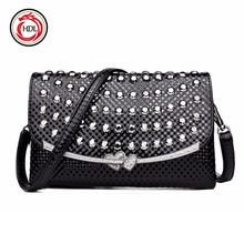 Latest Fashion Pu Leather Women Handbag Cross body Purses For Ladies