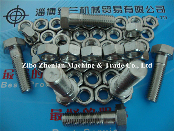 China Supplied SUS 304 Bolt, Nut, Washer