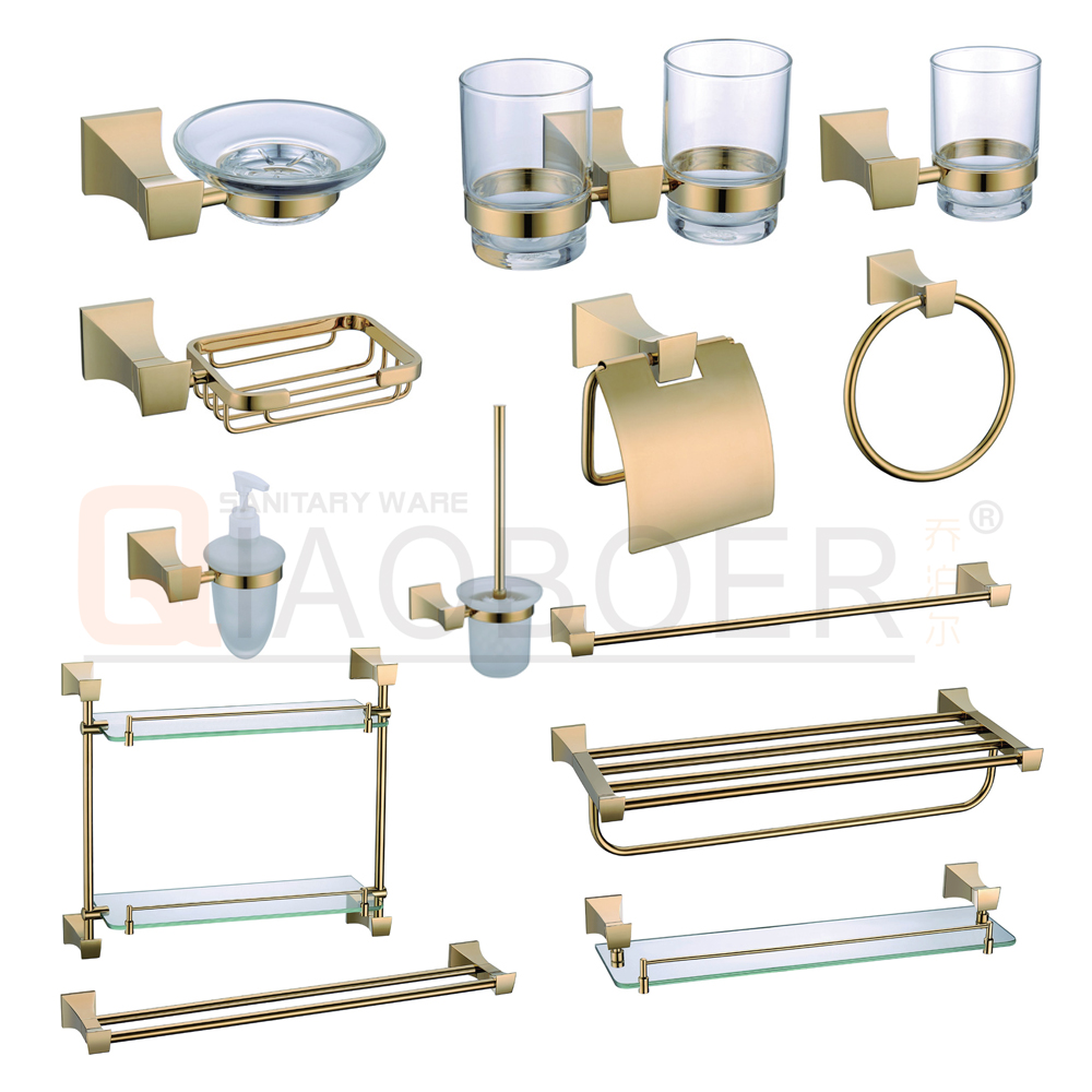 List manufacturers of gold bathroom accessories buy gold for Bathroom accessories list
