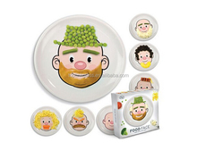 wholesale melamine kids lunch plate cartoon dishes cheap melamine plate, kids plastic food tray