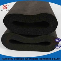 Newest design top quality foam rubber pipe insulation