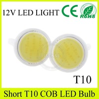 Promotion!! auto car accessories cob led bulb t10 led light oga brand
