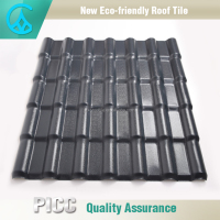 China Factory Easy Insulation PVC Roof Shingle