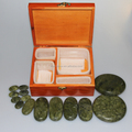 Deluxe jade massage stone for body relaxing