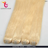 Private label no synthetic 100% human hair weft remy Amazing color Double drawn hair extension