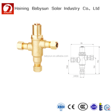 "1/2"" 3/4"" solar water heater thermostatic mixing valve with good quality"