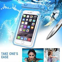for iPhone X Best Waterproof Case, Cell Phone Waterproof Pouch for Universal Mobile Phone