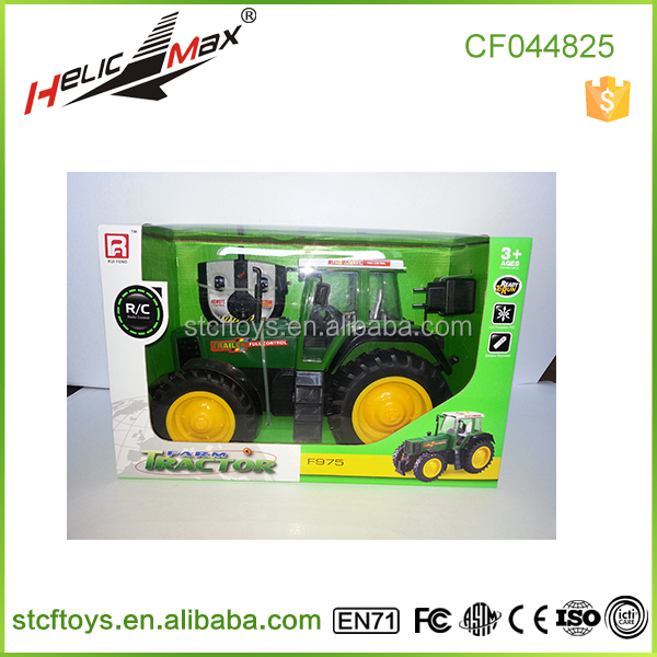 Hot goods ! lager 38.5cm 4 channel RC truck toy Electric Tractor Remote control Truggy car Stunt Toy Ruifeng toy F975