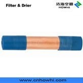 copper pipe Filter & Drier with Plastic Cap, for refrigeration and air conditioning