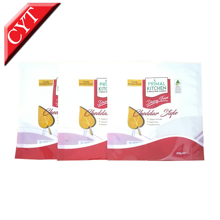 Custom printing Food safe plastic bags