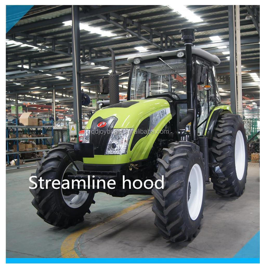 110hp tractor with 12+4R shift at the right hydraulic steering