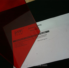 outdoor red colored plastic film for laminated glass