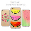 New Arrival Fruit Watermelon Design Painted Phone Cover Soft IMD TPU Silicone Case For iPhone 5 5s SE 6 6s 6Plus 7 7Plus