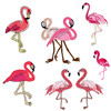 Embroidery Flamingo Accessories For DIY Apparel