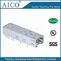 single port press fit 1*1 SFP card cage