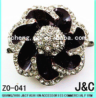 most fashionable flowers shaped lady shoes accessory