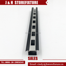 High Performance U Channel Aluminum Extrusion Single Slotted Upright Post