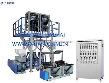 PLASTIC EXTRUSION MACHINERIES FOR HDPE FILM
