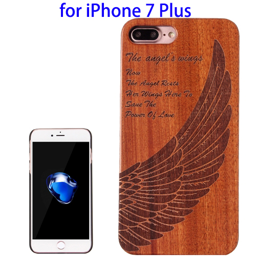 Wooden Protective Back Cover Case for iPhone 7 Plus, Wood Cover for iPhone 7 Plus Case