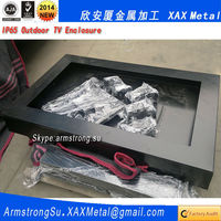 XAX62TV light box scrolling display metal outdoor tv enclosure