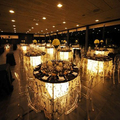 Remote controlled battery powered light Wedding decoration Centerpieces for Wedding Decoration