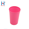 Customized 16Oz / 500Ml Colorful PP Plastic Drinking Cup