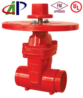 NRS Grooved End Gate Valve for fire protection usage FM UL certified
