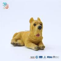 Life size resin animal statue polyresin dog figurines