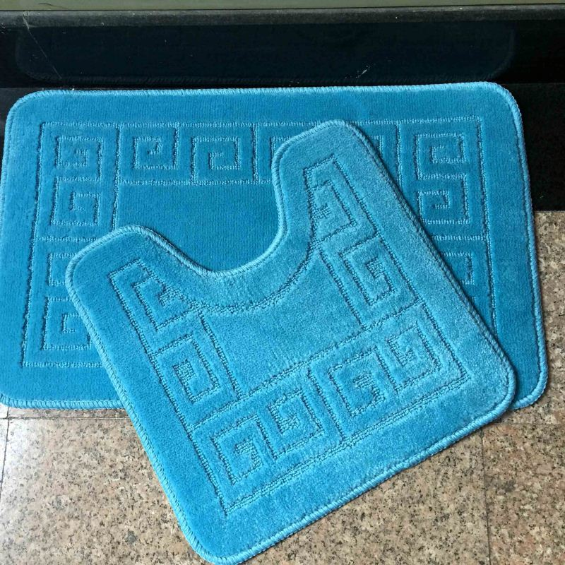 BSCI Water Absorption Toilet Seat Cover And Rug Set