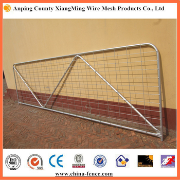 2017 Anping Best Selling Hot Dipped Galvanized Farm Gate