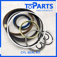 Bulldozer spare parts 707-98-60121 hydraulic Blade Tilt seal kit for komatsu D80-18
