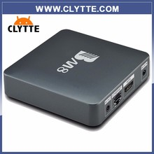 CLYTTE best Quality BM8 Android 6.0 Smart TV Box 2GB/32GB with Superiptv Europe IPTV account for italy germany spanish uk polish