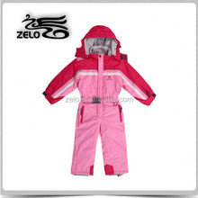 Children's trendy colorful waterproof ski snow overall