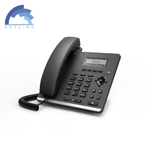 low price voip phone 2 lines good voice quality 2 SIP IP phone factory in China