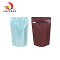 Blow Molding Stand up with zipper dog food plastic bag For Pet Food