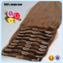 Alibaba express wholesale great lengths virgin brazilian clip on human hair extensions for black women