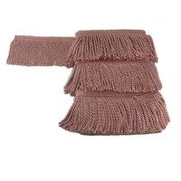 Good Quality Custom Made Wholesale Decorative Trimming Curtain Tassel Fringe