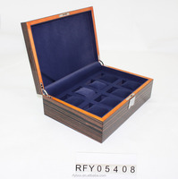 wooden with lacquer watch gift Packaging Box
