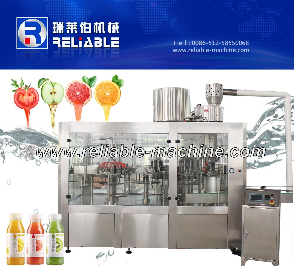 Aseptic fruit juice processing filling machine plant for sale