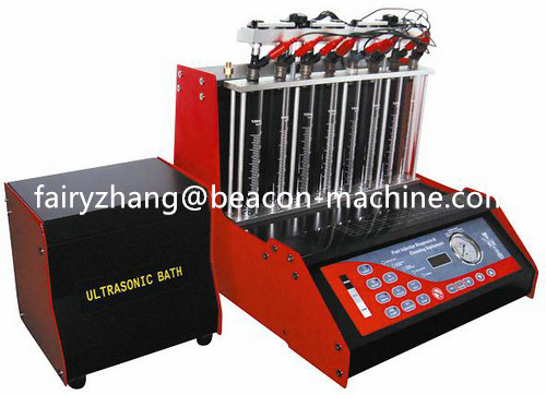 High quality Beacon BC-8H 8 cylinders fuel injector diagnostic and cleaning machine