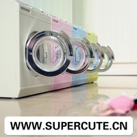 Multifuntional ABS Four colors washing machine shape toilet paper holder&plastic money bank
