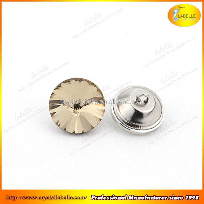 Crystal alloy rhinestone buttons for sofa decorations