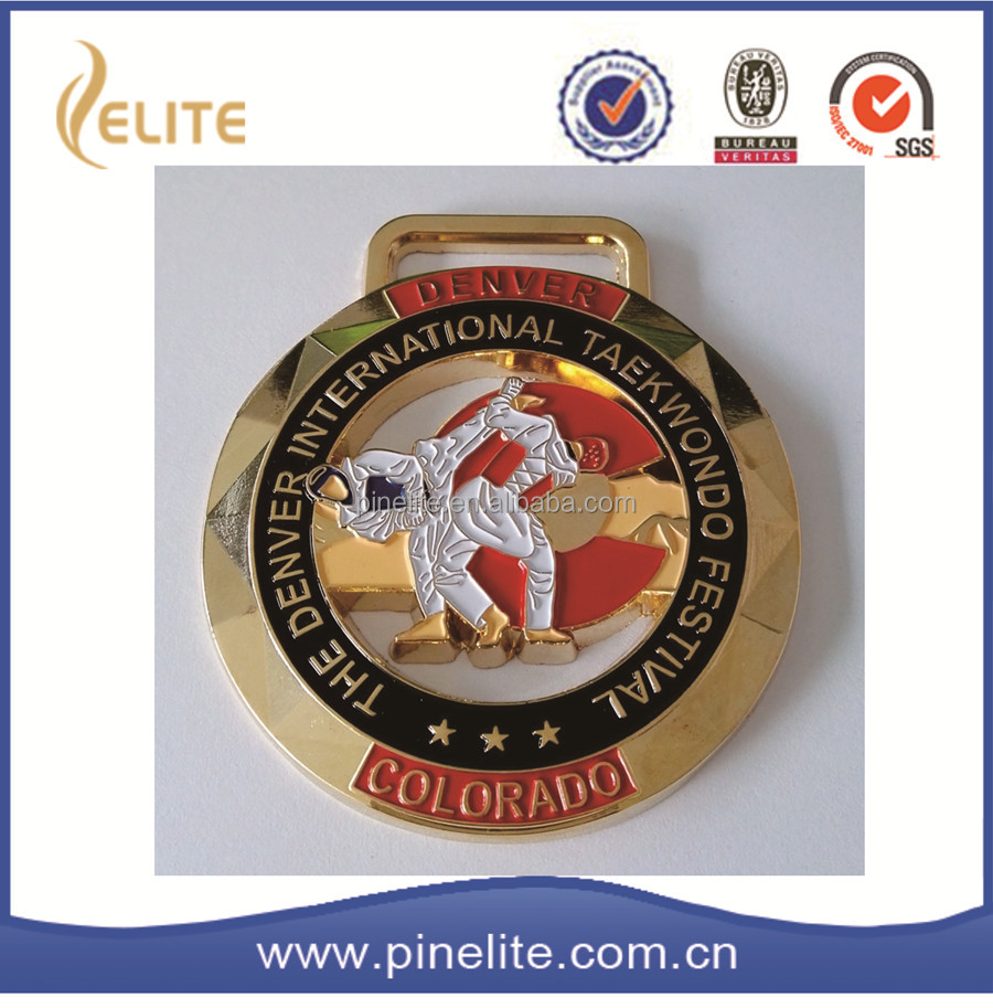 high quality fashion soft enamel gold medal,soft enamel award sports medal