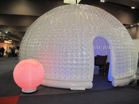 Best selling inflatable bubble dome tent/inflatable Led tent K5035
