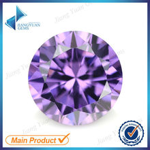 factory direct 6a brilliant cut round cz gems stone