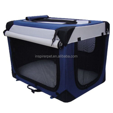 Luxury Dog Crate Cage with Oxford Curtain